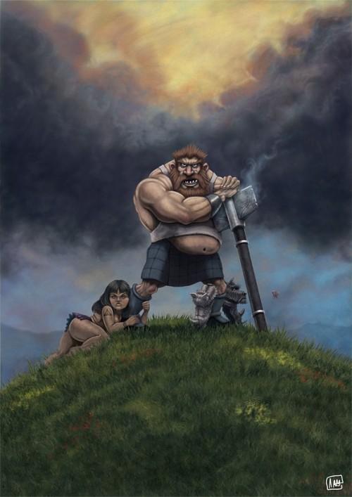 585x827_7376_Real_Men_Wear_Kilts_2d_cartoon_conan_warrior_viking_frazetta_babe_humour_picture_image_digital_art.jpg