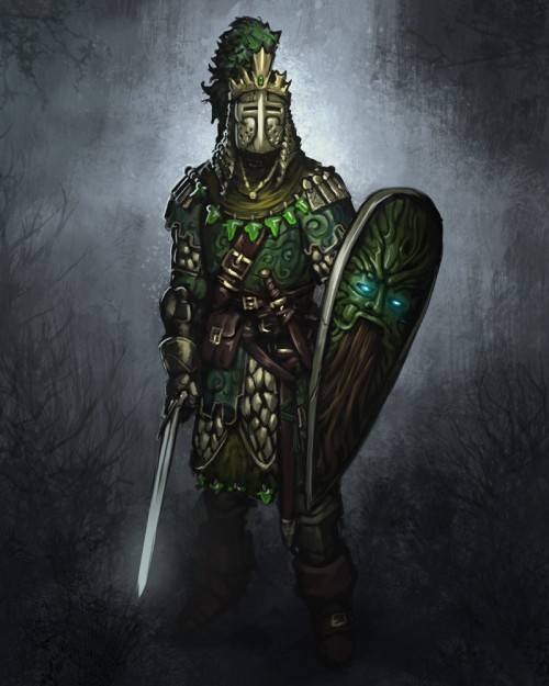 Green knight by taaks