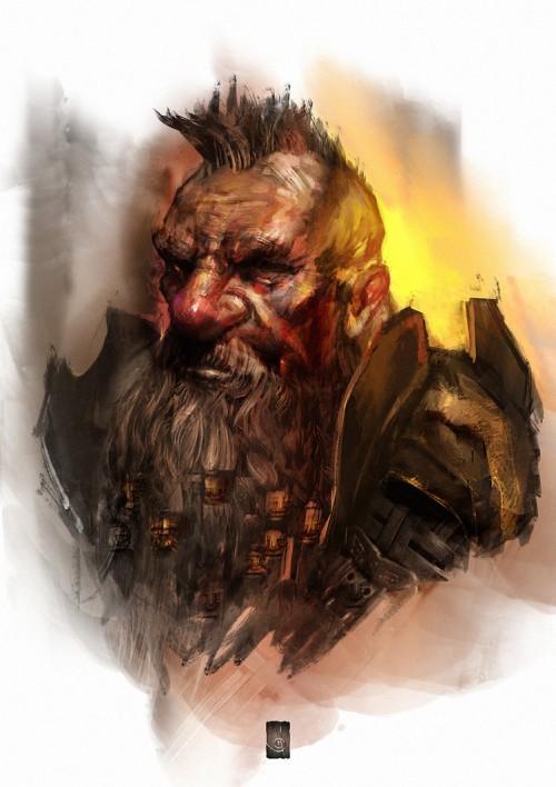 Dwarf portrait by muratgul d9ig5sc